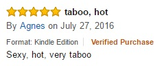 sexy hot taboo review amazon